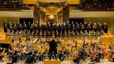 Orquesta y Coro de la Filarmonía de Madrid.