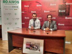 Presentación del Cupón de la ONCE de San Saturio.