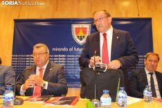 Francisco Rubio deja la presidencia del CD Numancia.