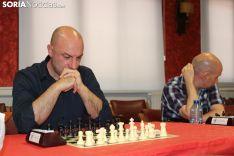 Torneo de ajedrez San Saturio en el Casino. SN