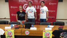 Rosa Almazán, Alberto Santamaría y Francisco Gil. /EP