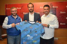 Presentación de la camiseta oficial del Río Duero 2018-19. Ayuntamiento de Soria