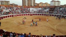 Plaza de toros de Almazán.