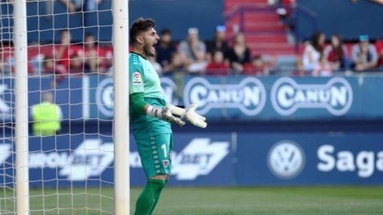 Juan Carlos evitó el 1-0 en El Sadar. LaLiga