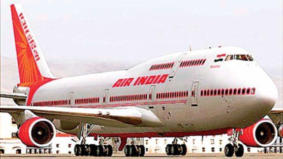 Una aeronave de la compañía Air India.