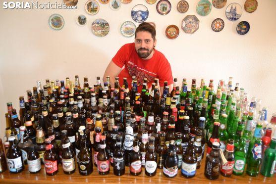 Miguel Ángel Ortega, el Willy Fog soriano de la cerveza. Sergio García