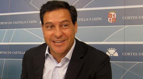 Raúl de la Hoz, portavoz del Grupo Parlamentario Popular en CyL. /EP