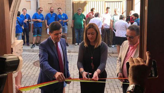 Barcones, junto a Carlos Martínez Izquierdo (dcha.) y Anselmo García. /Subdelg.