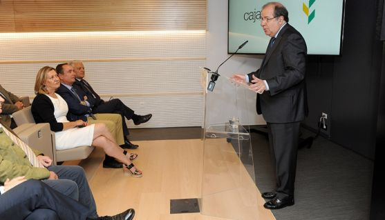 Juan Vicente Herrera durante su intervención este jueves en Burgos. /Jta.