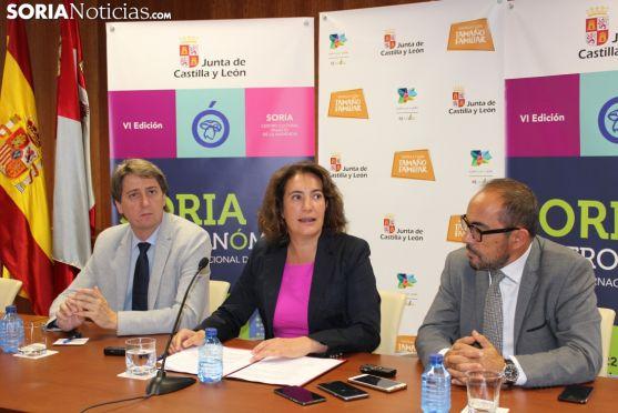 La Junta presenta el VI Congreso Internacional de Micología 'Soria Gastronómica'.