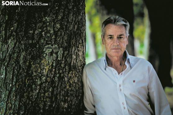 José Luis Palomar, torero soriano afincado en Ágreda. Carmen de Vicente