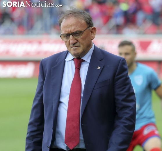 Francisco Rubio Gracés, presidente del CD Numancia.