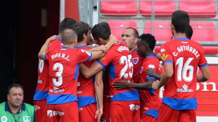 El Numancia sumó el primer triunfo de la temporada ante el Elche en Soria. LaLiga