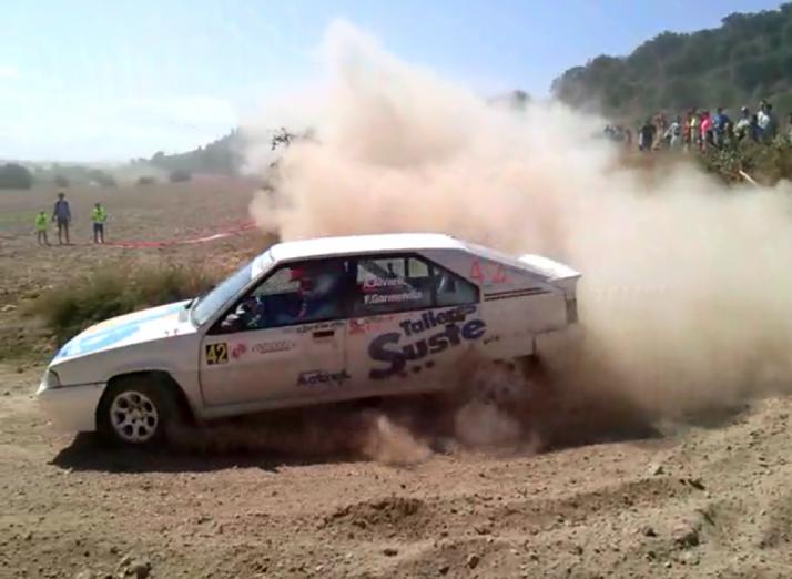 Agustín Álvaro vence en Cervera y está a un paso de ser bicampeón de España de rally de históricos