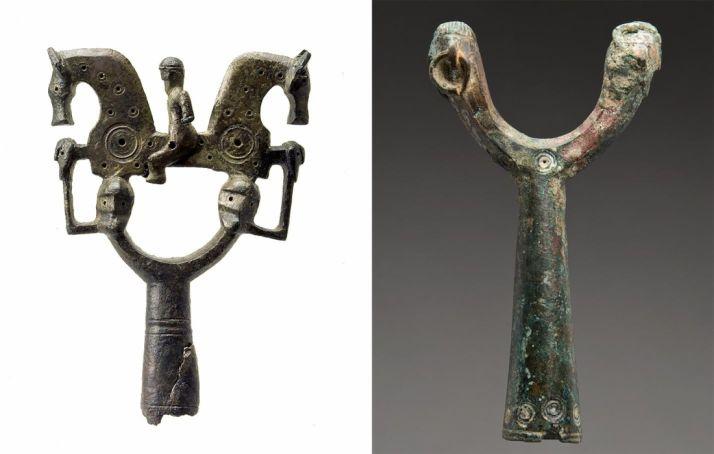 Las dos piezas del museo. /Jta.