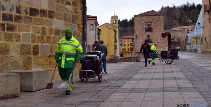Foto 1 - Podemos Soria propone municipalizar todos los servicios municipales