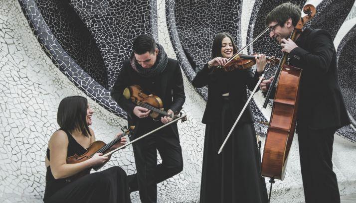Foto 1 - La Música de cámara llega al #FOMS con el Cuarteto Nel Cuore y su 'Concierto de los afectos'
