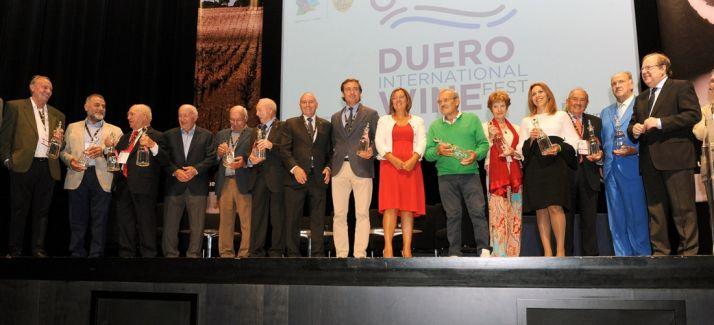 Homenaje a los pioneros del vino en Castilla y León. /Jta.