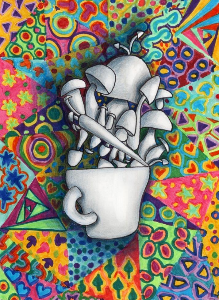 El diseño ganador para ilustrar la Semana de la Tapa Micológica fue el de Esther del Cura. ASOHTUR
