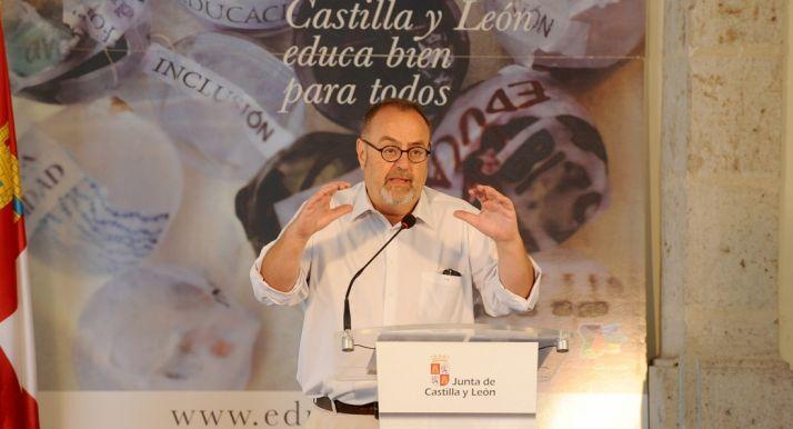 Fernando Rey, este miércoles en la presentación del curso escolar. /Jta.