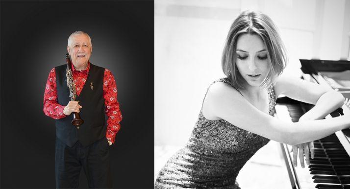 Paquito D'Rivera y Judith Jáuregui. /Ayto.-Pedro Walter