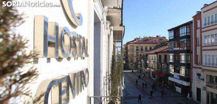 Un establecimiento hostelero en la capital. /SN