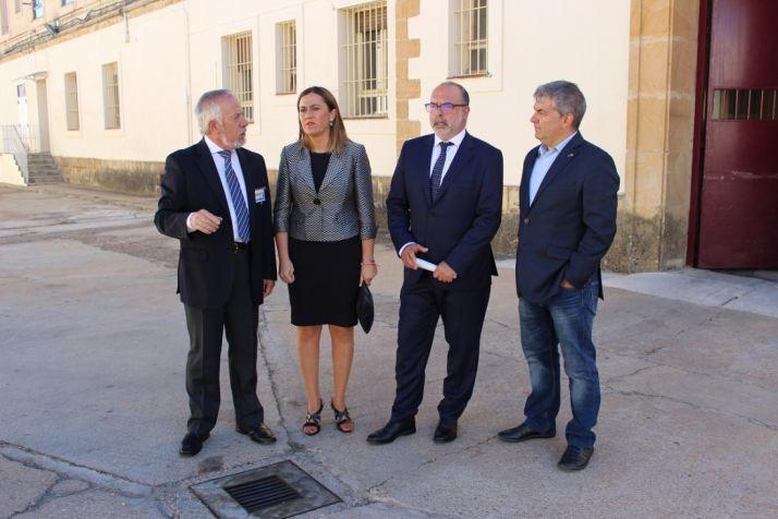 Visita institucional a la cárcel de Soria por el día de la Merced.