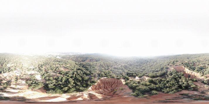 Una imagen del paraje. /Luis García Carro