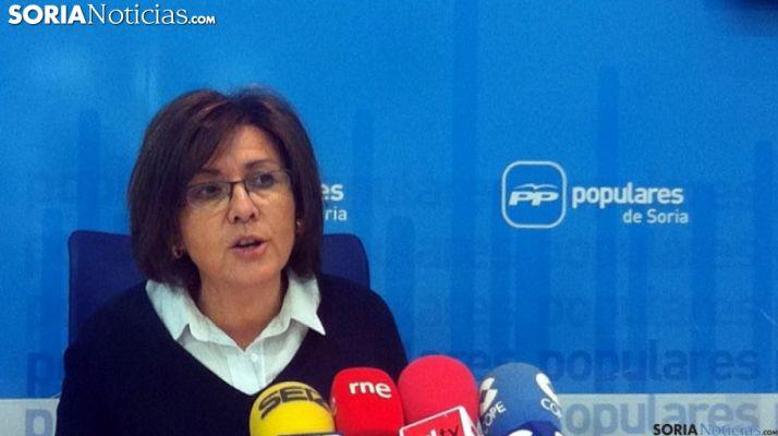Marimar Angulo, senadora del PP por Soria. /SN