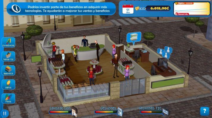 Foto 1 - La Junta lanza un juego didáctico online para que las pequeñas empresas aprendan a incorporar las TIC en sus modelos de negocio