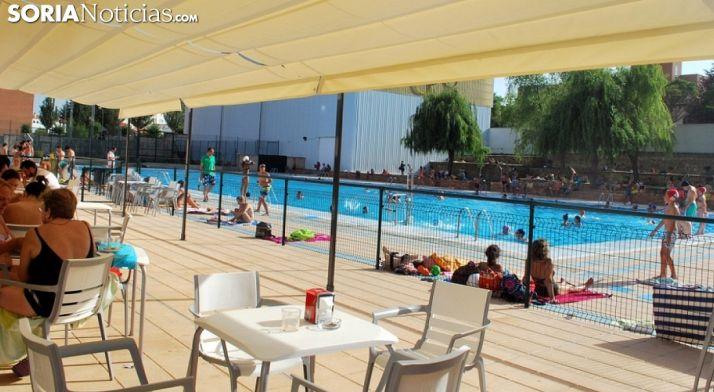 Imagen de las piscinas del San Andrés. /SN
