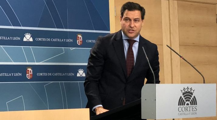 Raúl de la Hoz, portavoz del PP en las Cortes regionales. /EP