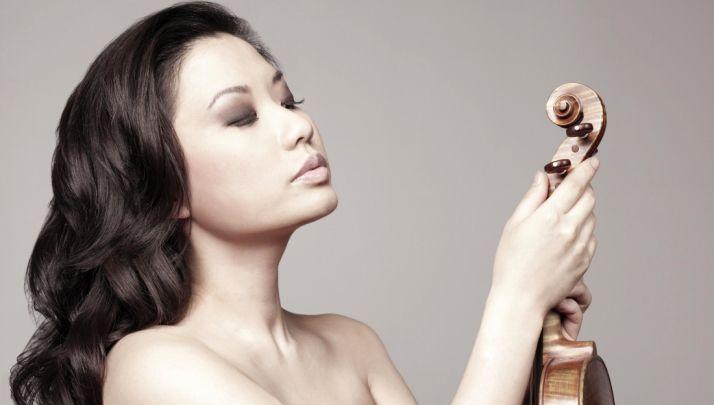 Foto 1 - La violinista Sarah Chang, este sábado en el Otoño Musical