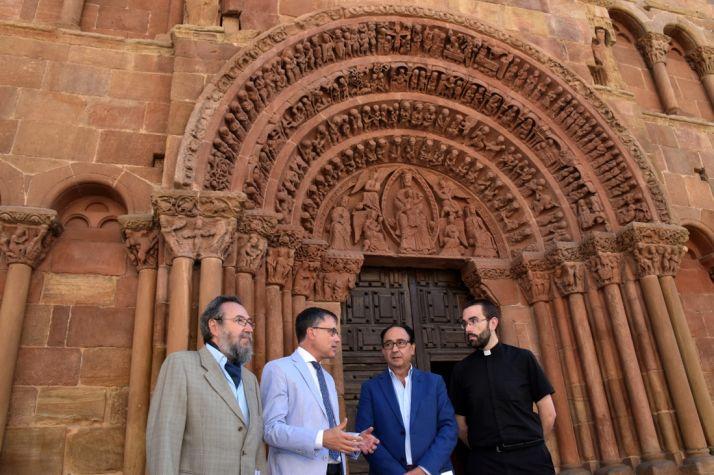 De la Casa (izda.), Saiz, López y Tejedor. /Jta.