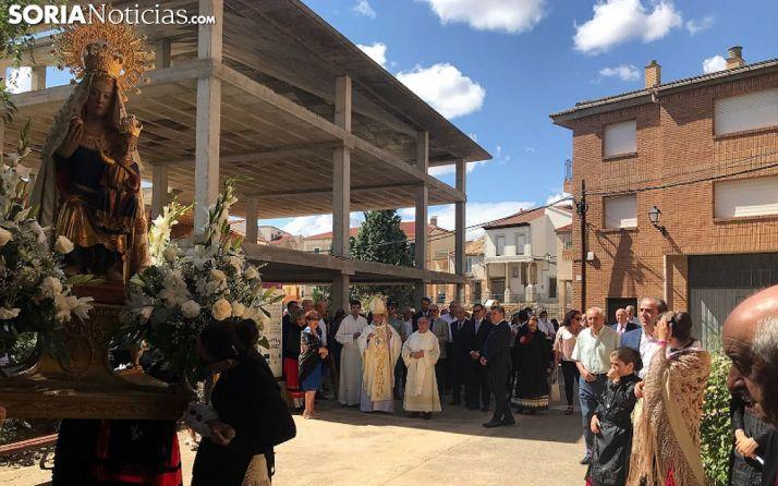Una imagen de la procesión del sábado. /SN