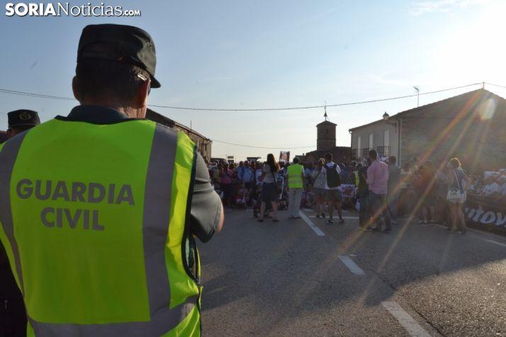 Una imagen de la concentración en Villaciervos. /SN