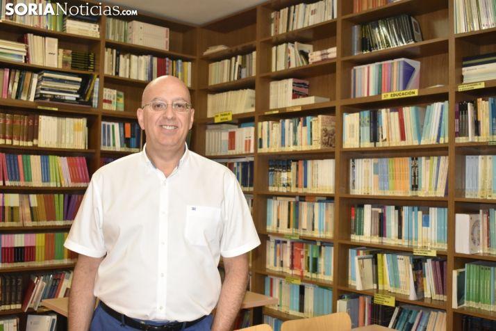 Saturio Ugarte, director de la Uned en Soria.