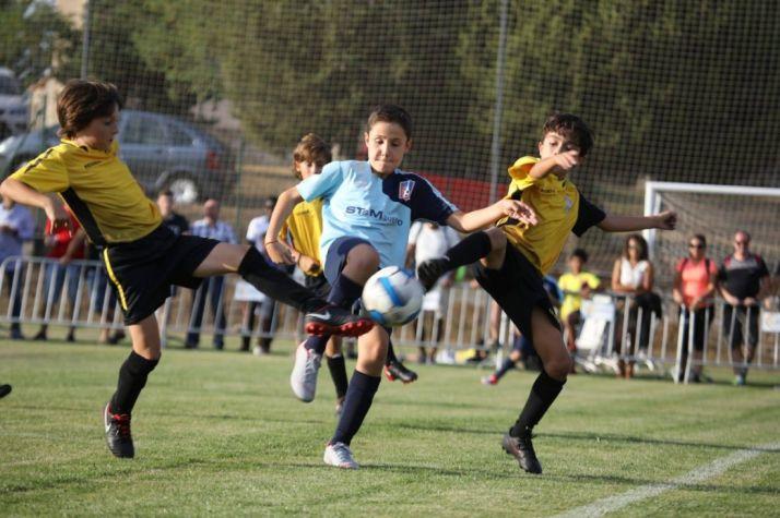 Pinares Cup de fútbol base de Abejar. /PInares Cup