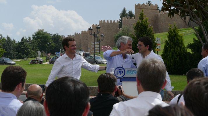 Foto 1 - Pablo Casado anuncia que la Fundación Concordia y Libertad estará presidida por Adolfo Suárez Illana