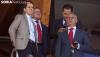 Los nuevos propietarios del Numanica junto a Paco Rubio