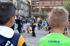 La plaza Mayor de Soria esta tarde. /SN