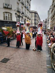 La Diputación de Soria, presente en la Ofrenda de Frutos a la Virgen del Pilar