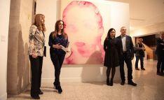 Las Cortes regionales alberganuna muestra de obras de la Colección MUSAC y la Colección de Arte