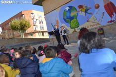 Nuevo mural en el CEIP Las Pedrizas.