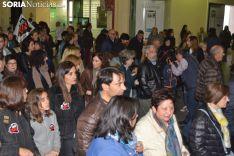 Una imagen de la multitudinaria manifestación de esta tarde de viernes. /SN