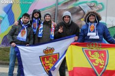 Afición zaragocista en Soria. Soria Noticias