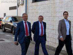 Elias Irael, nuevo presidente del Numancia. SN