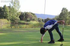 Fernando Zorzo, en el campo de golf de Pedrajas.