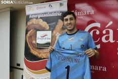 Luis Enrique Vega, nuevo jugador del Río Duero. SN
