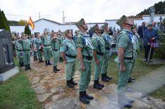 Legionarios homenajean a Yagüe en San Leonardo